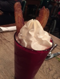 Bacon Milkshake at the Papermoon Diner Baltimore, MD